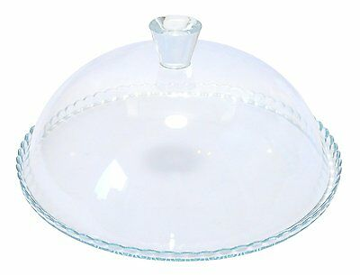 Pasabahce Cake Stand Glass Birthday Cupcake Muffin Display Serving Plate & Lid