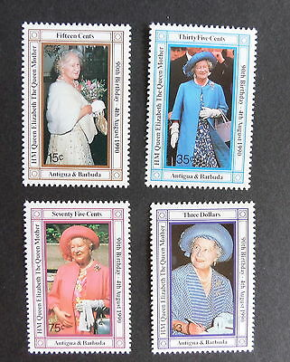 Antigua & Barbuda 1990 Queen Mother's 90th Birthday UM MNH unmounted mint