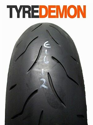 180 55 17 Bridgestone Battlax BT016 Pro Part Worn Motorcycle Tyre E1612
