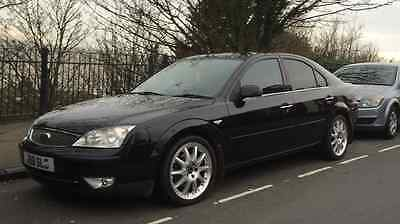 Ford Mondeo Mk3 Ghia X Panther Black Front Bumper COMPLETE