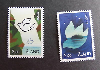 Aland 1995 Europa peace Freedom dove bird SG96/7 MNH UM unmounted mint