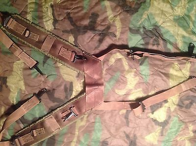 US Army LC1 / M1956 Field Pack Suspenders Nylon -Vietnam 1968 Spec Ops  )