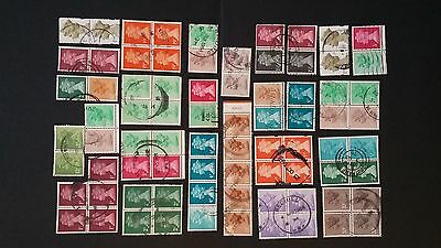 GB DECIMAL STAMPS QEII (78 STAMPS) used (s4)