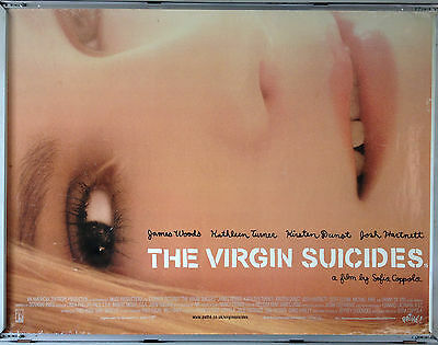 Cinema Poster: VIRGIN SUICIDES, THE 1999 (Quad) James Woods Kirsten Dunst