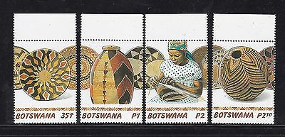 Botswana 2016 50th Anniversry Independence Set African Art UMM MNH