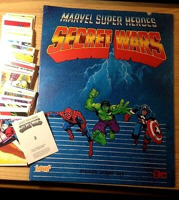 Evado mancoliste figurine SECRET WARS  Ed. Leaf Marvel 1984