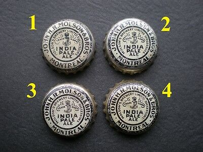 �� Molson India Pale beer Cork Bottle Cap - BUY ONLY THE BOTTLE CAP YOU NEED!!