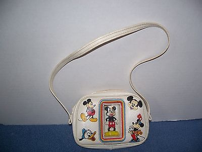 Vintage Mickey Mouse Figure Childs Purse Disney Product