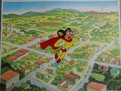 Hand Painted Handpainted Mighty Mouse Animation Cel Cell Art