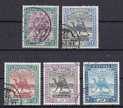 North Africa Group of 5 Used Stamps SG12, 15, 16, 109 & 110