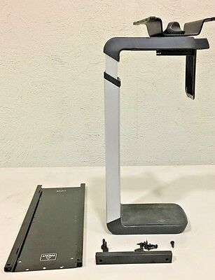 Humanscale, CPU600, Under Desk CPU Holder, 360° rotation (USED GREAT CONDITION)