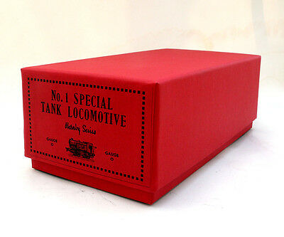 Hornby O Gauge 0-4-0 Clockwork No 1 Special Tank Loco Box,  Reproduction, New