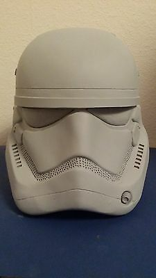 Star Wars Episode 7 new Stormtrooper Helm Resin 1:1 Raw Cast Movie Prop
