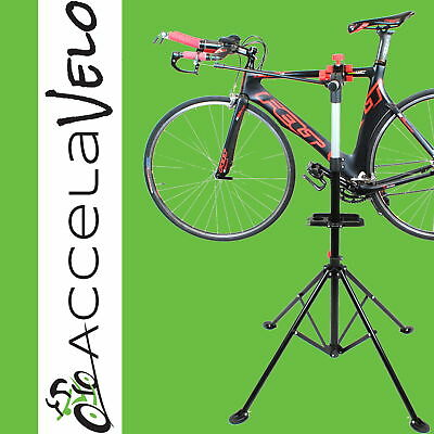 Pro Bicycle Adjustable Repair Stand w/ Telescopic Arm Mountain Bike Cycle Rack