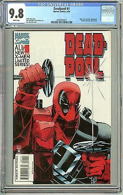 Deadpool #1 (Limited Series 1994) CGC 9.8 White Pages 0283850007