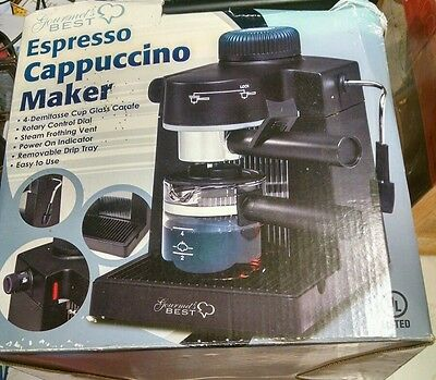 Gourmet's Best Espresso Cappuccino Maker New in Damaged Box