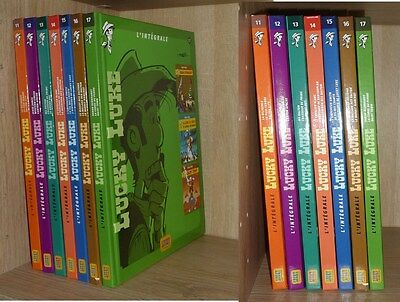 INTEGRALE LUCKY LUKE : Lot de 7 Volumes TBE - 10 à 17 -