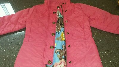 Joules padded coat age 3 yrs