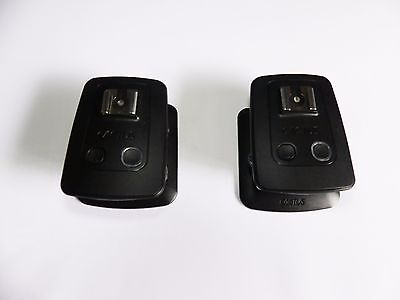 Pair Of Cactus V5 Flash Radio Triggers (Transceivers)