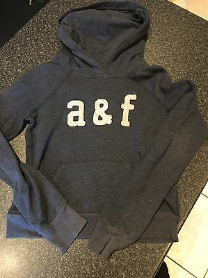 Abercrombie & Fitch Girls Hoodie Size M Navy