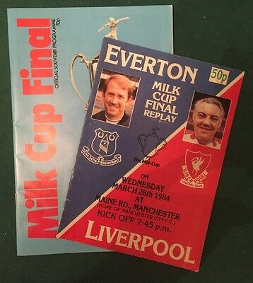 Everton v Liverpool - 1984 Milk Cup Final & Replay