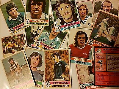 Topps 1977 (Red Back) Football Cards
