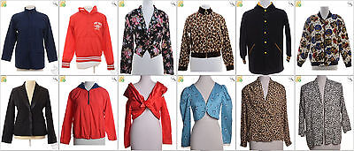 JOB LOT OF 21 VINTAGE WOMEN'S JACKETS - Mix of Era's, styles and sizes (17997)