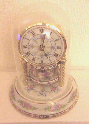 Franklin Mint Clock - William Dentzel 150th Year Anniversary of The Carousel