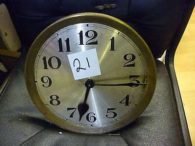 Original 1930s Longcase Grandfather Clock Weight Driven Chime Movement+Dial(21)