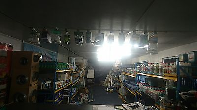 Hydroponics shop for sale stock only canna 600w ballast lights Ionic Hydro etc