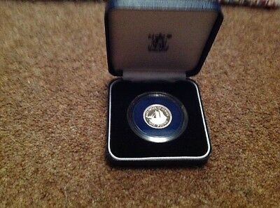 "1991 Jersey £1 Silver Proof ""The Tickler"" with COA - 1 of only 3,000 issued"