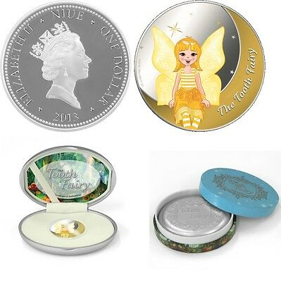 Niue 2013 $1 The Tooth Fairy 1/2 Oz Silver Proof Coin PP silber