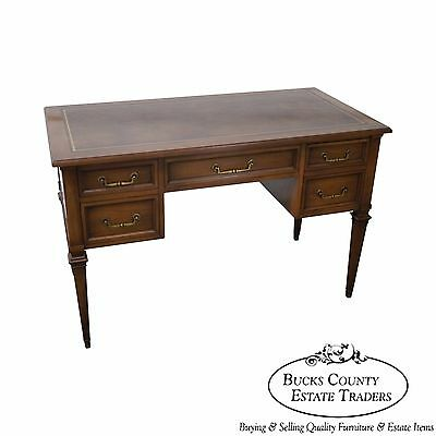 Hekman Vintage Regency Style Leather Top Writing Desk