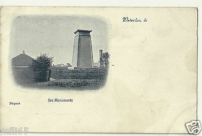 Vintage Postcard - Le Waterloo - Ses Monuments - Unposted