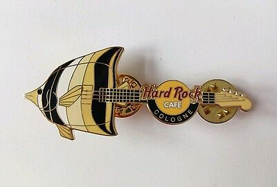 HRC Hard Rock Cafe - 2004 - Cologne Fish Guitar - New Limited Edition Pin #25087