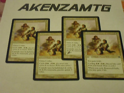 AkEnZaMtG x4 Renewed Faith / Fede Rinnovata x4 MTG Magic