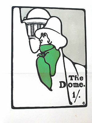 THE DOME.1899. #2. ORIGINAL COLOUR WOODCUTS by EDWARD GORDON CRAIG. ROGER FRY