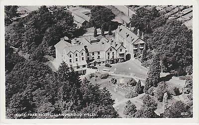 Welch Real Photo. Aerial view Rock Park Hotel. Llandrindod Wells.  c 1930s