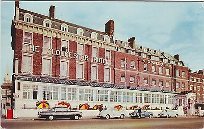 English Postcard. The Gloucester Hotel. Weymouth. Dorset.  Mailed 1974