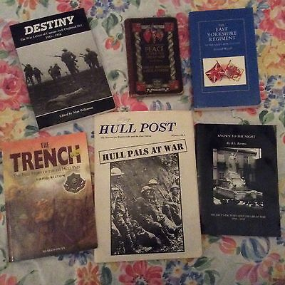 Ww1 Selection Of Books About The East Yorkshire Regiment Hull Interest