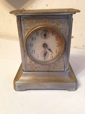 Antique PHS German Carriage Clock With Music Box Project Haas & Son