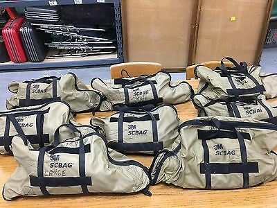 Lot of 8 3M Air-Mate SCBAG (Self-Contained Breathing Apparatus) w/ 3M 7800S Mask