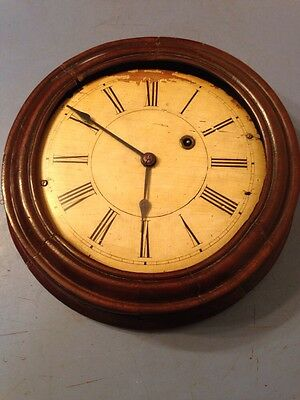 Antique Brewster & Ingraham Gallery Clock East West Movement Project