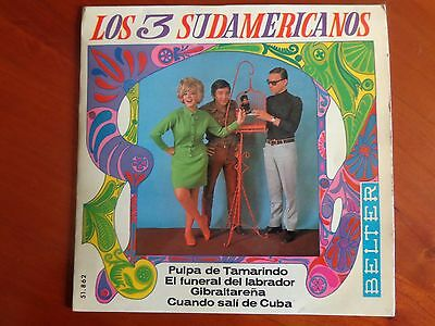 Los 3 Sudamericanos - Pulpa de Tamarindo - Single 7""