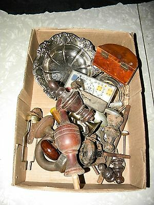 Misc. Hardware Wabash Metal Airplanes Antique Hardware Advertising Ashtray Lot
