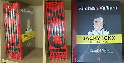 Lot de 6 Tomes - INTEGRALE MICHEL VAILLANT - Jacky ICKX - Edition LUXE