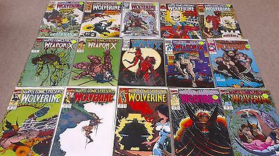 Marvel Comics Presents Lot of (39)  67-98 + 110-152 Wolverine Weapon X VF/NM Run