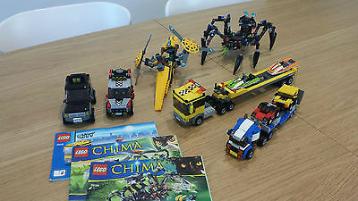Lego Transport & Rescue Vehicles and Chima items