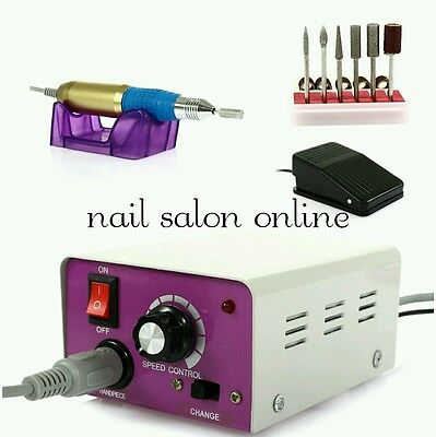 Professional electric nail drill file efile for acrylic gel nails