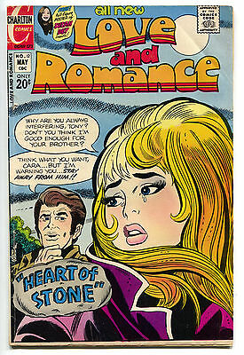 Love And Romance 12 Charlton 1973 FN Susan Dey Pin-Up